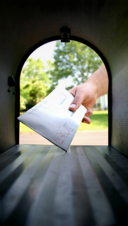 check in mailbox